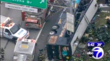 Bus Accident In The Bronx
